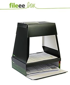 Die Fileee Box hilft beim Digitalisieren von Dokumenten